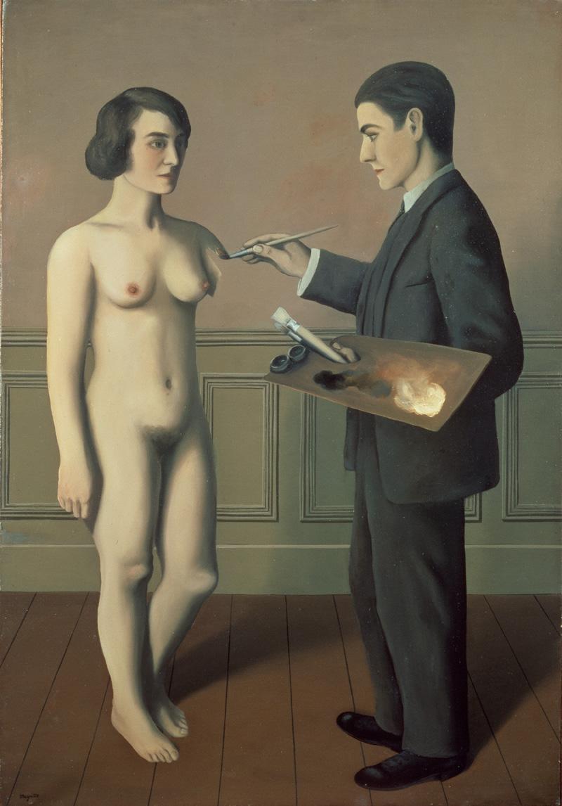 René Magritte, La tentative de l'impossible, 1928, © Photothèque R. Magritte / Banque d'Images, Adagp, Paris, 2016