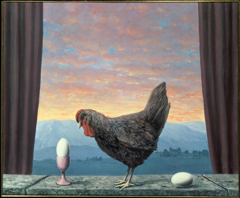 René Magritte, Variante de la tristesse, 1957, © Photothèque R. Magritte / Banque d'Images, Adagp, Paris, 2016