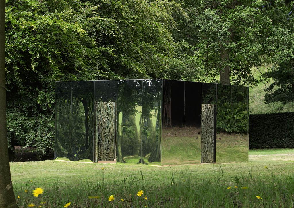 """Cristina Iglesias """"Habitación Vegetal XV (doble passage)"""" 2008"""