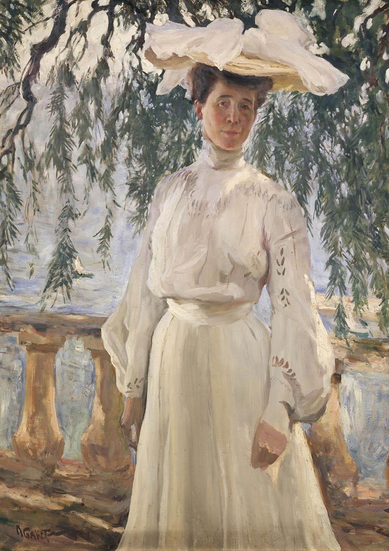 "Л.С. Бакст ""Портрет Л.П. Гриценко"" 1903"