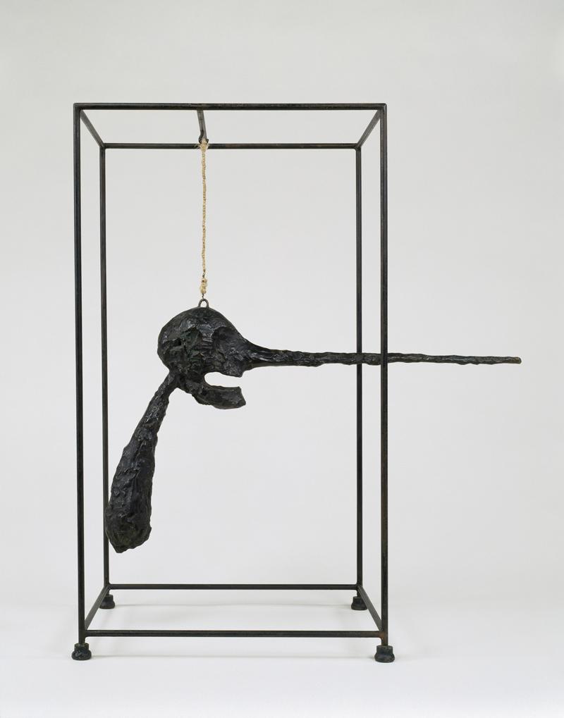 Alberto Giacometti, Nose (Le nez), 1947 (cast 1949)