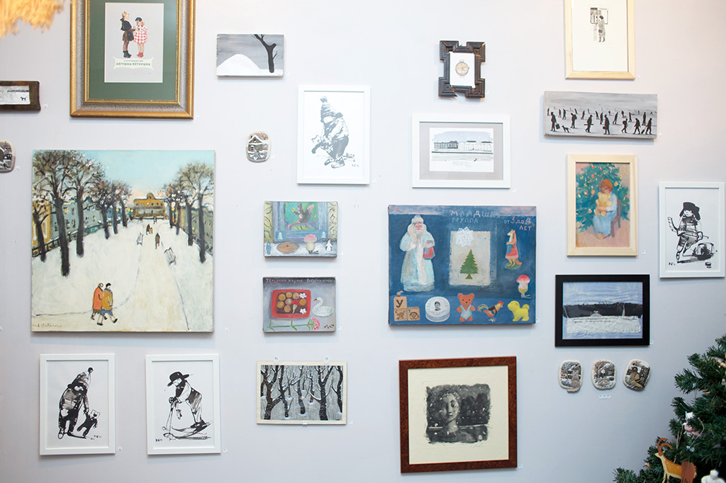 """Картинки с выставки """"Новый год"""", 2016"""