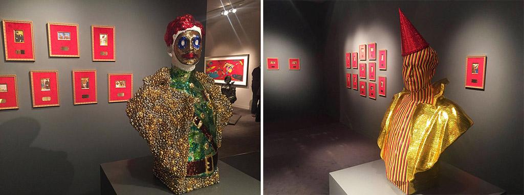 Новые скульптуры Яна Фабра в галерее Guy Pieters