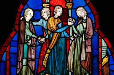 Double mariage des deux fils de Pépin, Carloman et Charles, le futur Charlemagne, aux deux filles du roi lombard Didier.
