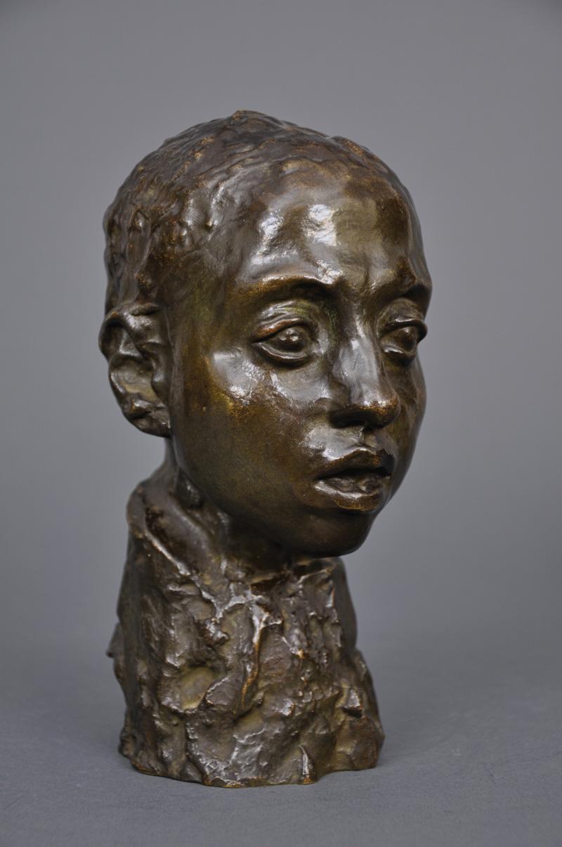 """Camille CLAUDEL, """"Etude pour la tête d'Hamadryade"""", vers 1895-1908"""