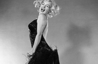 USA. New York City. Halsman's studio. 1959. American actress Marilyn MONROE.