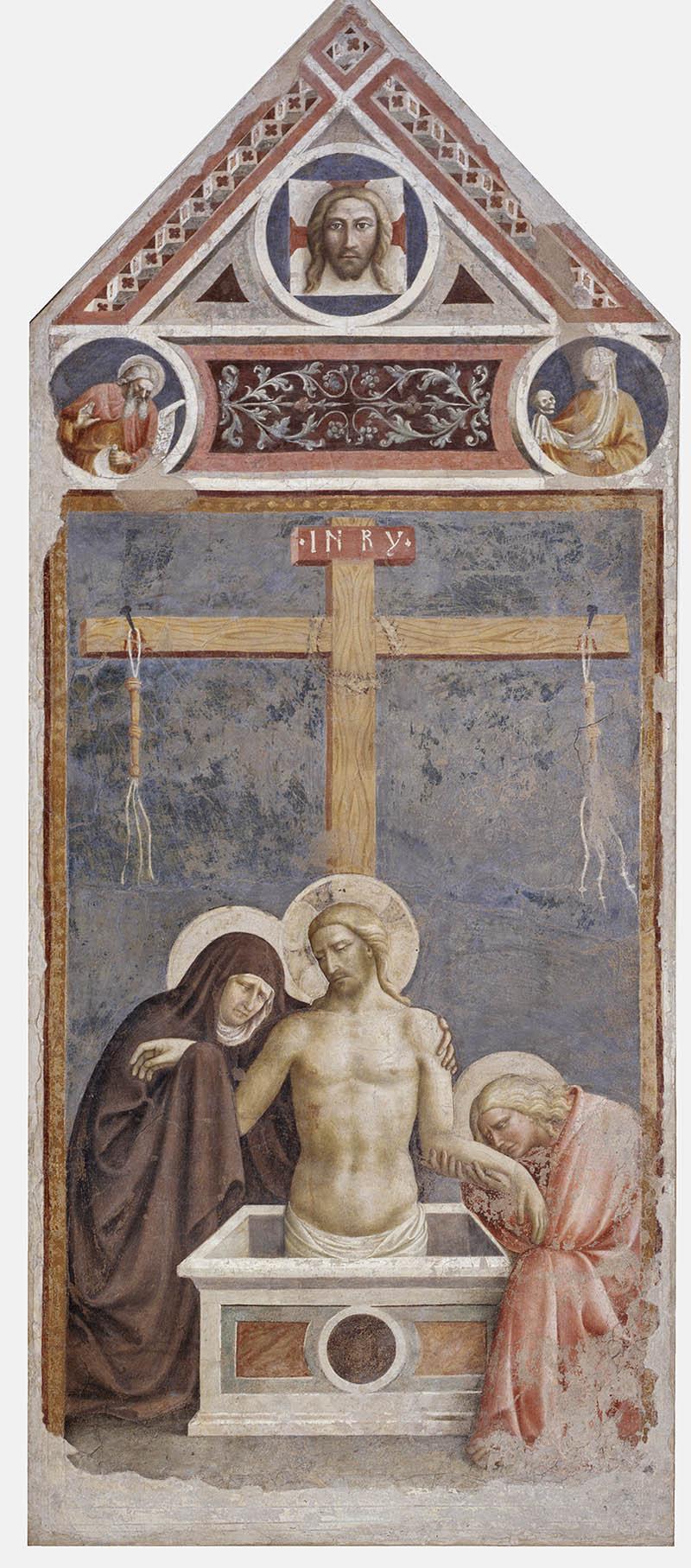 Pietà Masolino da Panicale 1424 Empoli, Museo della Collegiata di Sant'Andrea