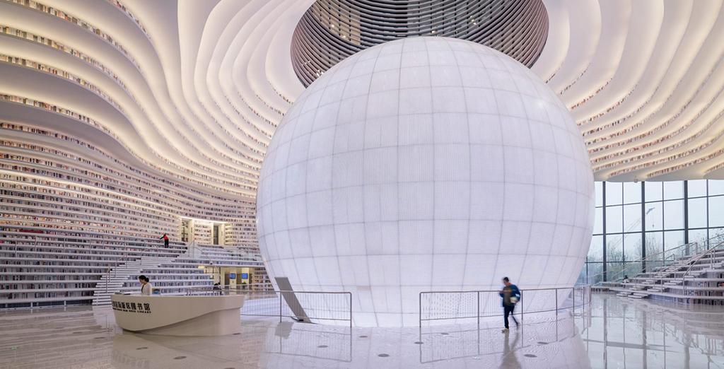 ТОП-10 библиотек XXI века, из которых не захочется уходить