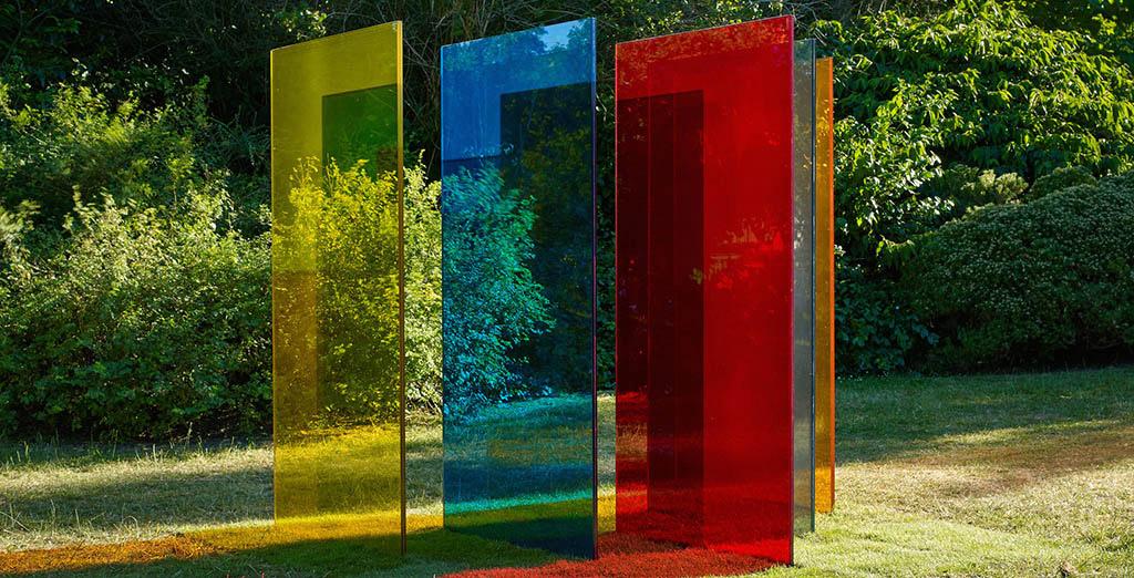 Как выглядит новый парк скульптуры в центре Лондона